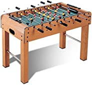 Marshal Fitness standing Football Soccer Table Family Game Wooden W Legs-MF-SC-4064