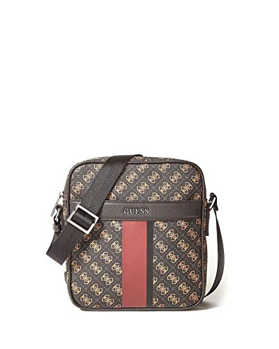 d9518c475d Guess HM6377POL81 TRACOLLA Uomo BROWN GENERICA