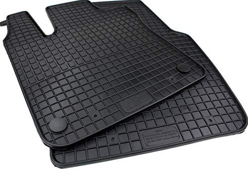kfzpremiumteile24 Gummimatten Original Qualität Fußmatten 2-teilig für ForTwo Forfour ab Bj. 11/2014 Twingo ab 09/2014