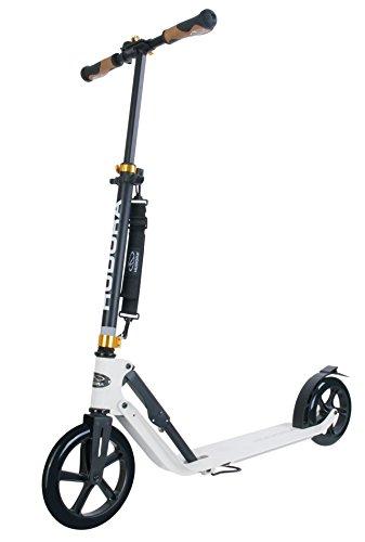 HUDORA 14236 BigWheel Style 230-Tret-Roller klappbar-Big Wheel City-Scooter, weiß