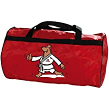 """let's Go"" Kwon DanRho Ki-funda de colour rojo para niños bolsa de oso artes marciales bolsa de deporte bolsa de entrenamiento para niños Budo artes marciales JU jutsu BJJ Judo Karate Taekwondo Aikido Kung Fu 336018001"