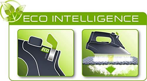 Rowenta DW6010D1 Ferro da Stiro a Vapore, 2400 W, 180, Acciaio Inossidabile, Nero/Verde 5 spesavip