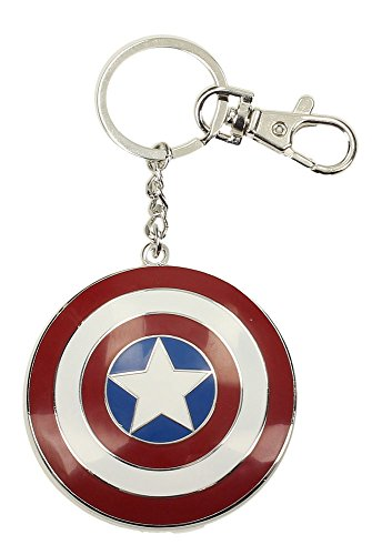 SD toys - Porte Clé Marvel - Captain America Shield Métal 5cm - 8435450201110