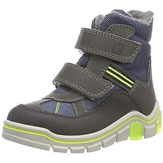 RICOSTA Boys' GEBRIS Snow Boots, Blue (Antra/Nebel 142), 11.5 UK Child