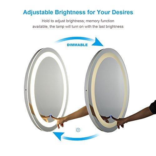 Co Z Specchio Per Bagno A Led A Parete Con Luce Per Bagno Illuminato