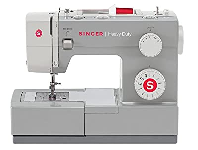 SINGER Heavy Duty Automatic sewing machine Eléctrico - Máquina de coser (Eléctrico, El pie para ojales, Protectora, Automatic sewing machine, Costura, Paso 4, Variable) de SINGER