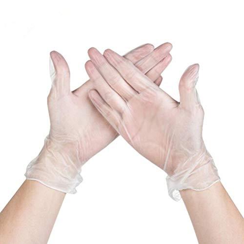 schuhe aus PVC, transparent, Einweg-Handschuhe, Heimgebrauch, medizinische Reinigung, Küche, Koch-Handschuh, Größe S, 1 Stück, Picture 1, S ()