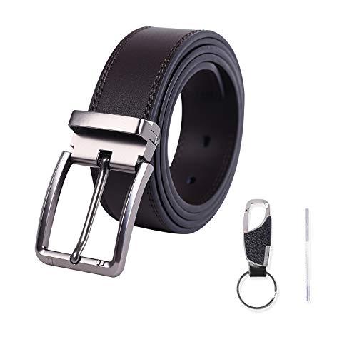 Meiruier Cinturón Cuero Hombre, Cinturón Para Hombres,...
