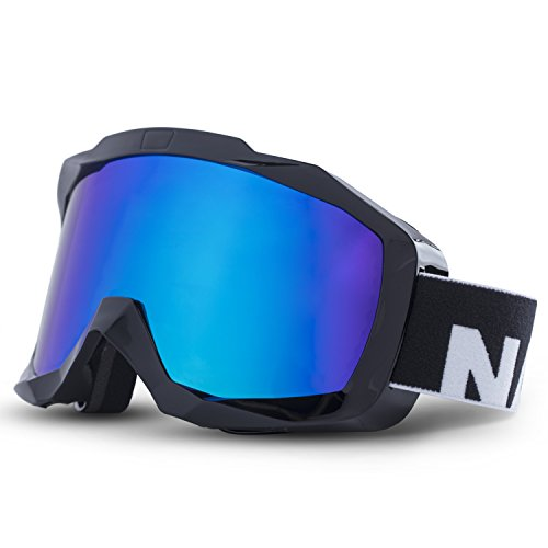 Optics – Snowboard Brille für Damen und Herren – Verspiegelt, Anti Fog und OTG fähig – Ski Goggles for Men and Women (Oakley Snowboard Brille Damen)