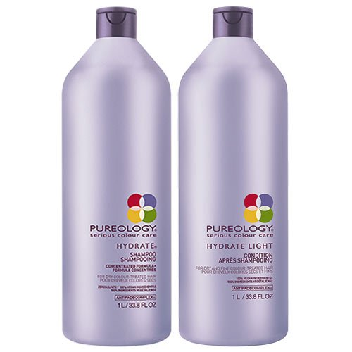 Pureology Hydrate Shampoo 1000ml & Conditioner 1000ml Duo