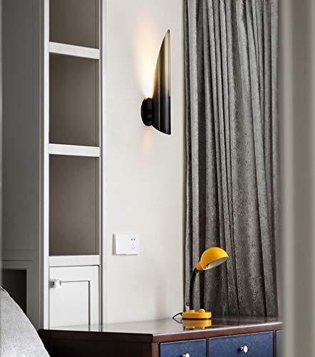XUEBAOBAO Postmodern Kreative Wohnzimmer Hardware Wandleuchte Kunst Nacht Schlafzimmer Studie Farbverlauf Wandleuchte Halterung Licht -
