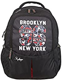 Skybags 31 Ltrs Black Casual Backpack (BPBOLP1BLK)