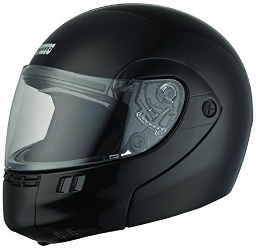 Studds Ninja 3G Economy Full Face Helmet (Matt Black, XL)