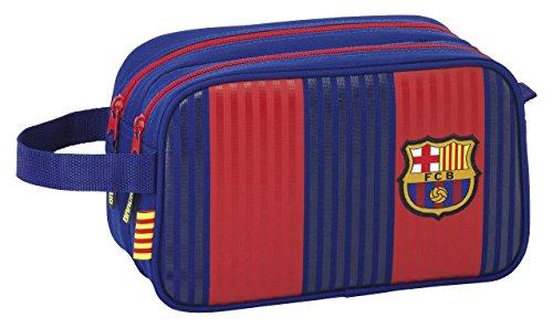 FC Barcelona Neceser, 26 cm, Azul/Granate