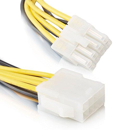 8 Pin Verlängerungskabel   Strom-Kabel   Grafikkarten Verlängerung Strom PCI Express   - MOVOJA