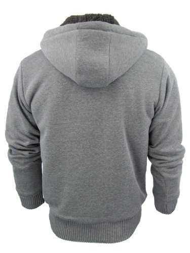 "Dissident ""Toulouse"" - Pull à capuche/Sweat homme - doublure polaire Gris Marl"
