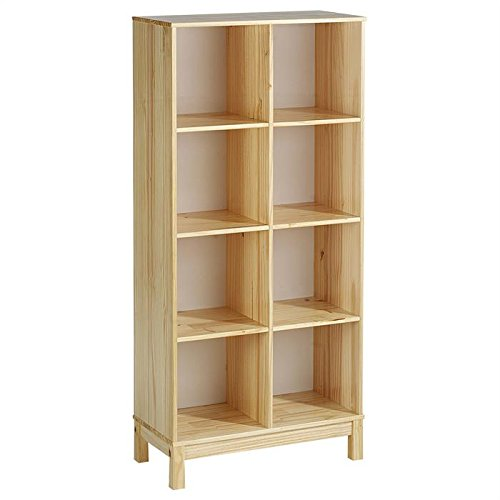 etagere-2-x-4-casiers-bibliotheque-logo-pin-massif-vernis-naturel