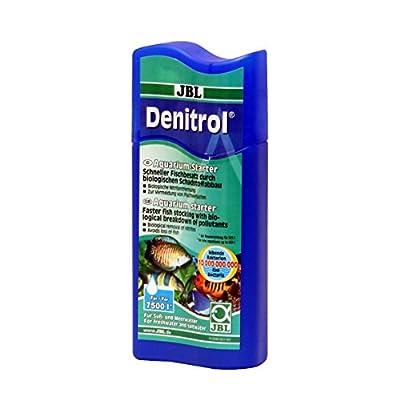 JBL Bacterial service kit for fresh water and aqua aquariums for the use of aquarium fish, 250 ml, Denitrol 23062