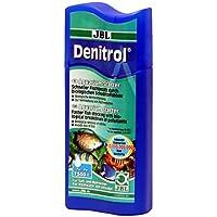 JBL Denitrol 23062 Bakterienstarter für Süß- und Meerwasser Aquarien für das Einsetzen von Aquarienfischen, 250 ml