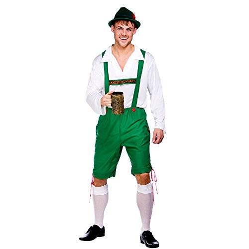 (n) Bayern Oktoberfest Deutschland Guy Herren Kostüm Fasching für Mans-S (Kostüm Oktoberfest Guy)