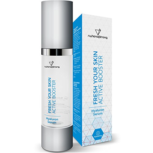 Hyaluronsäure Serum hochdosiert | nur vier 4! Inhaltsstoffe | 50ml Feuchtigkeitsserum Fresh Your Skin | veganes Konzentrat | Anti-Falten-Gel | Anti-Aging-Serum | reine Gesichtspflege für jede Haut