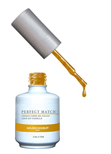 LeChat Perfect Match UV/LED Gel Vernis à Ongles Golden Doublet
