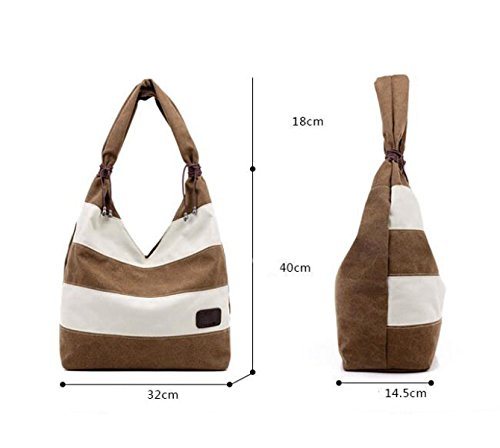 Weibliche Tasche Die Schulterbeutel-Segeltuch Einfaches Freizeit-Idiot-Beutel-großes Paket Tote-Beutel Taschen Black