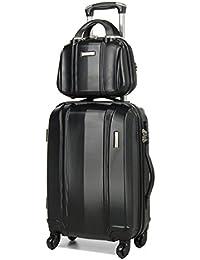 Ensemble valise 54 cm et vanity 29 cm MADISSON 60002 Black