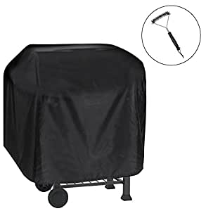 105 49 102cm grillabdeckung grill abdeckhaube mit einer. Black Bedroom Furniture Sets. Home Design Ideas