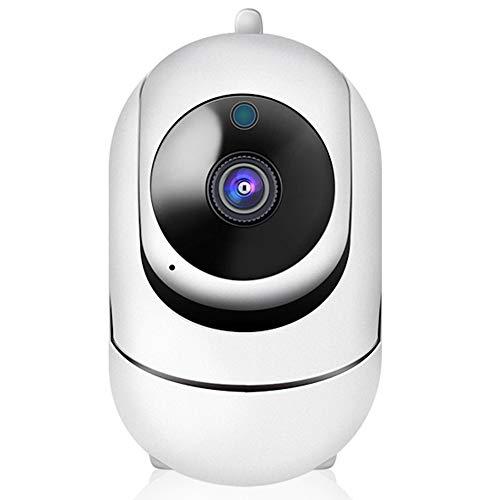 Wireless Netzwerkkamera Indoor WiFi Baby Überwachung HD 1080P 3.0MP Fisheye-Objektiv Smart-Kamera Schießt Nachtsicht Automatische Nachführung Bewegungserkennung 2-Kanal-Audio-114 ° Weitwinkel