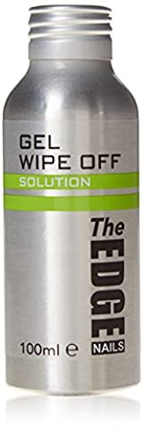The Edge Nails Ultra Violet Gel Wipe Off Solution 100ml (Colors may vary)