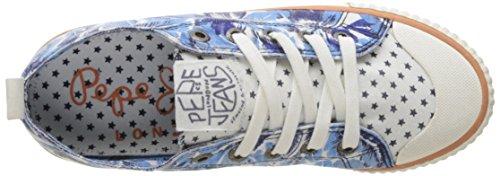 Pepe Jeans Industry Soul, Scarpe da Ginnastica Basse Donna Blu (Anyl)