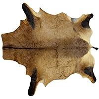 Zerimar tapis peau de africain antilope alcefalo o bubales imitation léopard Mesures: 150x120 cms 100% naturel parfait pour la décorationimitation léopard