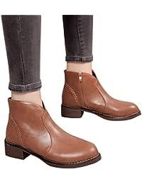 MYMYG Single Kurze Frauen British Stiefel Schuhe Klassische Freizeitschuhe  Boots Wildlederstiefel Retro Gürtelschnalle Stiefel Mädchen Leder 1ff6a4ea3e