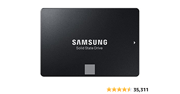 "Samsung 860 EVO 500GB SATA 2.5"" Internal Solid State Drive (SSD) (MZ-76E500)"