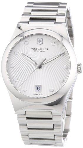Victorinox Swiss Army Damen-Armbanduhr XS Victoria Analog Quarz Edelstahl 241630 (Victorinox Watch Womens)