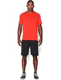 Under Armour Ua Tech Ss Tee Herren Fitness - T-Shirts & Tanks, Orange Bonfire, S
