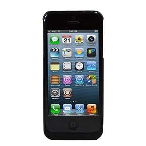 GMYLE (TM) Wireless-Qi Schwarz Cordless Ladegerät Receiver Slim Fall hülle für das iPhone 5