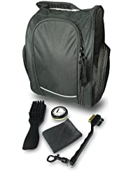Longridge Sac à chaussures exécutive et kit soin de club Golf Noir