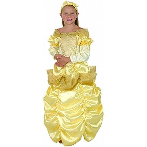 Disfraz princesa bella niña - 7 - 9 años