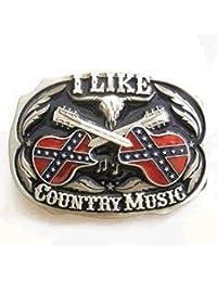 Me Gusta la Música Country hebilla de cinturón