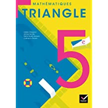 Triangle Mathématiques 5e éd. 2010 - Manuel de l'élève (format compact)
