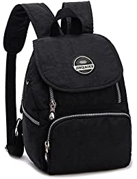 Estwell Women Girls Small Backpack Handbag Waterproof Nylon Shoulder Bag Travel Bag Casual Daypack
