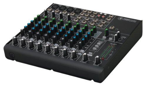 Mackie 24880 1202-VLZ4 12-Channel Compact DJ Mischer