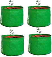 "YUVAGREEN Terrace Gardening Leafy Vegetable Green Grow Bag (15"" X 15 "") - (P"