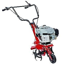 Einhell Benzin-Bodenhacke GC-MT 3036 (139cm³, 3,0 kW, 36 cm Arbeitsbreite, 23 cm Arbeitstiefe, 4-Takt-Motor, Hackmesserstop, höhenverstellbare Führungsgriffe)