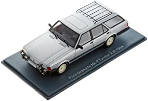 NEO 1/43 Ford Granada Turnier 2.8 Injection (1984) Silver (japan import)