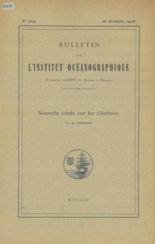 Nouvelle etude sur les Cliothosa.