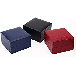 Armbanduhrbox Geschenkbox Uhrenbox, Ularmo Box Büchse für Armbanduhr Schmuck