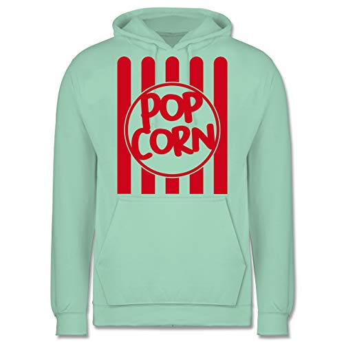 - Popcorn Karneval Kostüm - XS - Mint - JH001 - Herren Hoodie ()